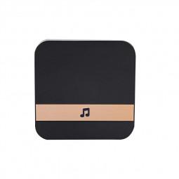 Smart Wireless Sensor Dingdong Doorbell Chime for Wireless Video Doorbell - Black