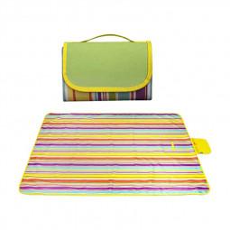 Waterproof Picnic Blanket Camping Mat Outdoor Beach Hiking Park Grass Travel Rug - Yellow