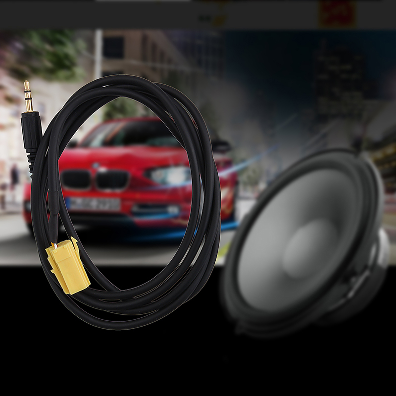 3.5MM MP3 iPod AUX Audio Cable plug Input Adapter for Alfa Romeo Fiat Lancia