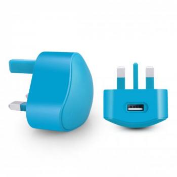 TC136 5V/1A USB travel charger--Blue