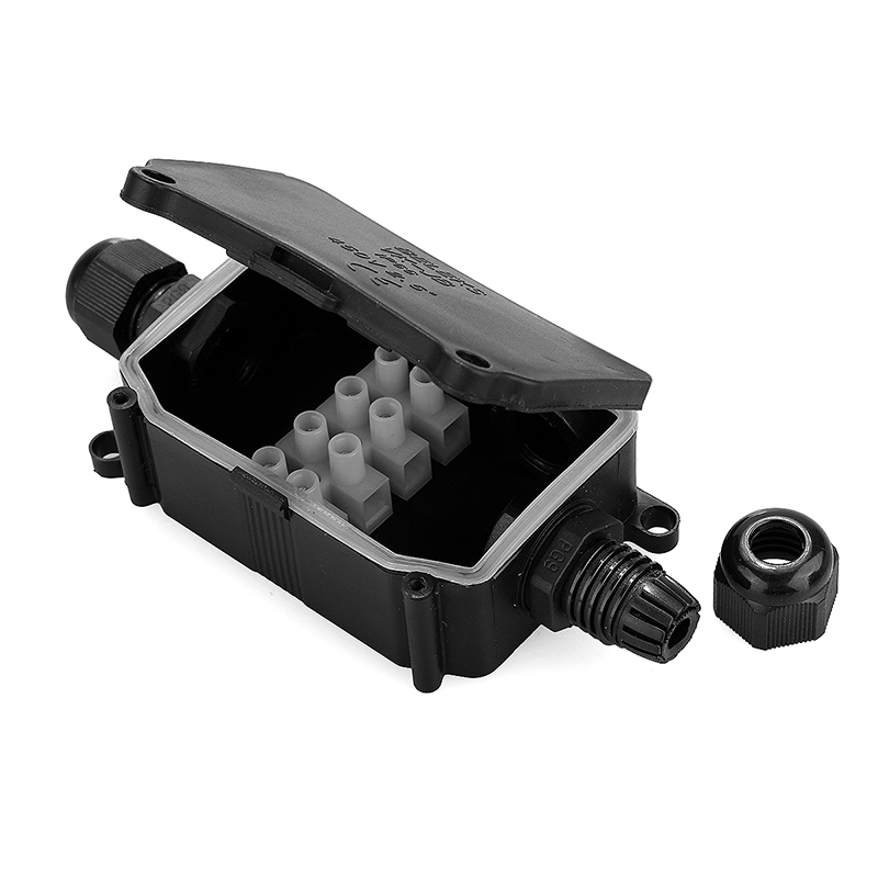 Waterproof IP66 Junction Box Underground Cable Line Protection Sleeve Connectors