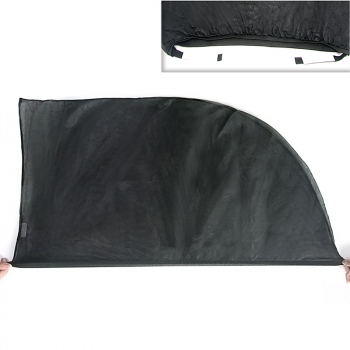 Anti-UV Car Side Window Sun Shade Visor Sun Block Cover 100x53.5cm