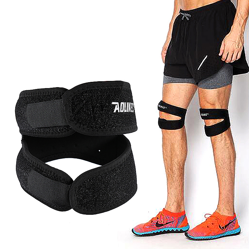 1pcs Knee Support Neoprene Patella Adjustable Protect Pad Strap Brace Band