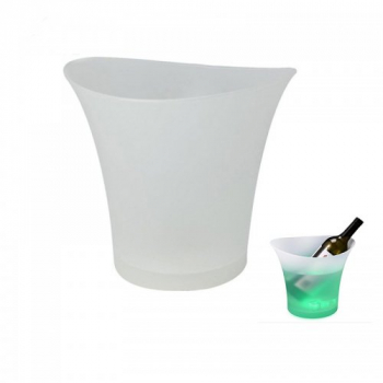 5L LED Colour Changing Ice Bucket Champagne Wine Drinks Cooler