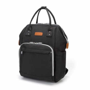 Mummy Maternity Diaper Bag Travel Backpack Nappy Organizer Nursing Bottle - Black