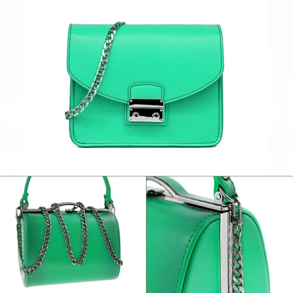 Bag Metal Flat Chain Replacement Strap for Handbag Purse - Black