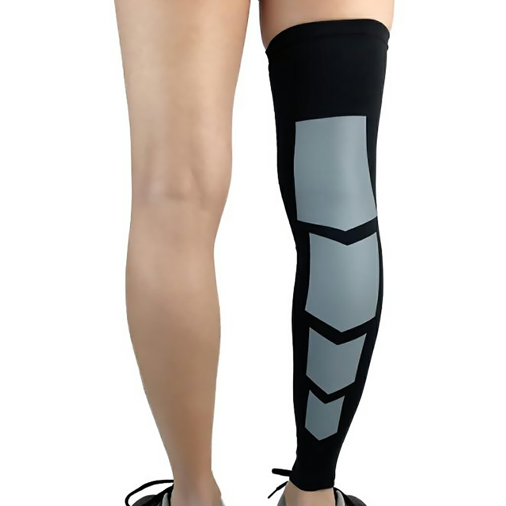 Professional Sport Leg Support Socks Pads Varicose Veins Calf Sleeve Compression Protective Brace - XL