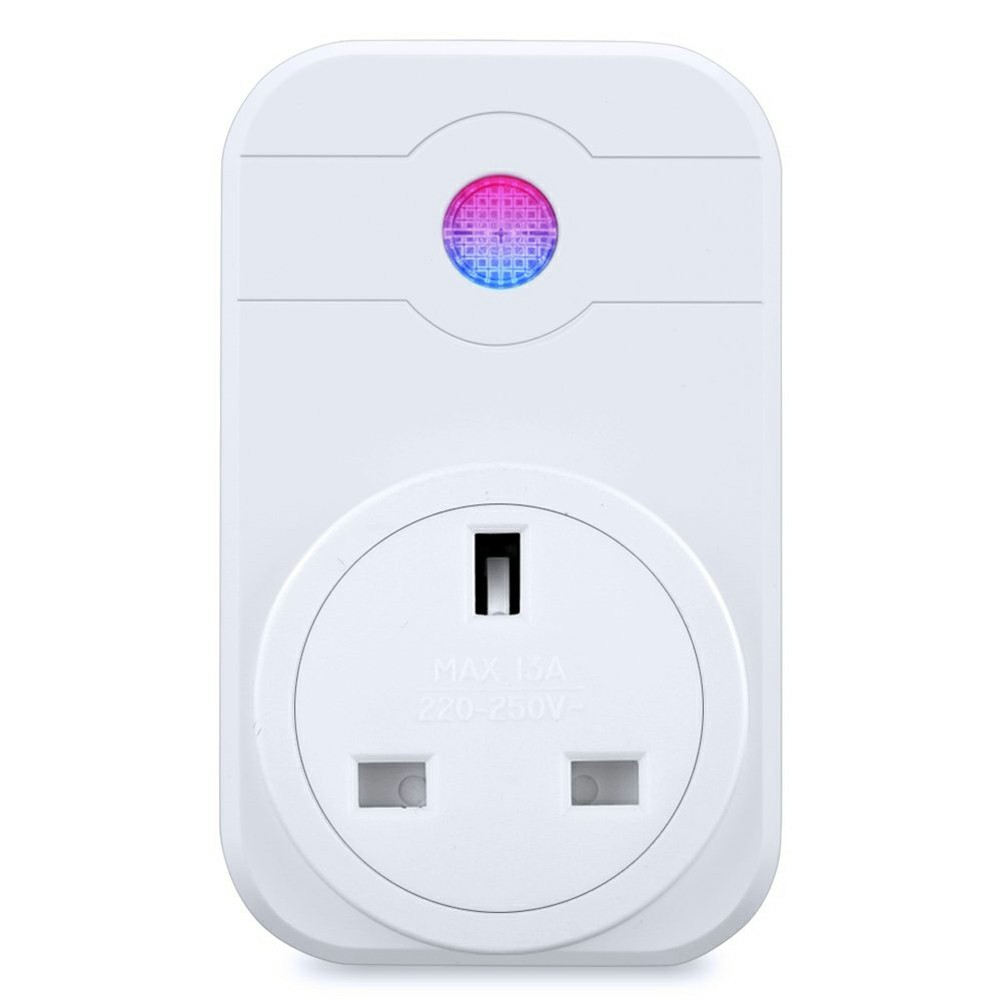 WiFi Socket Wireless Outlet Smart Plug Remote Voice Control Timer - UK Plug