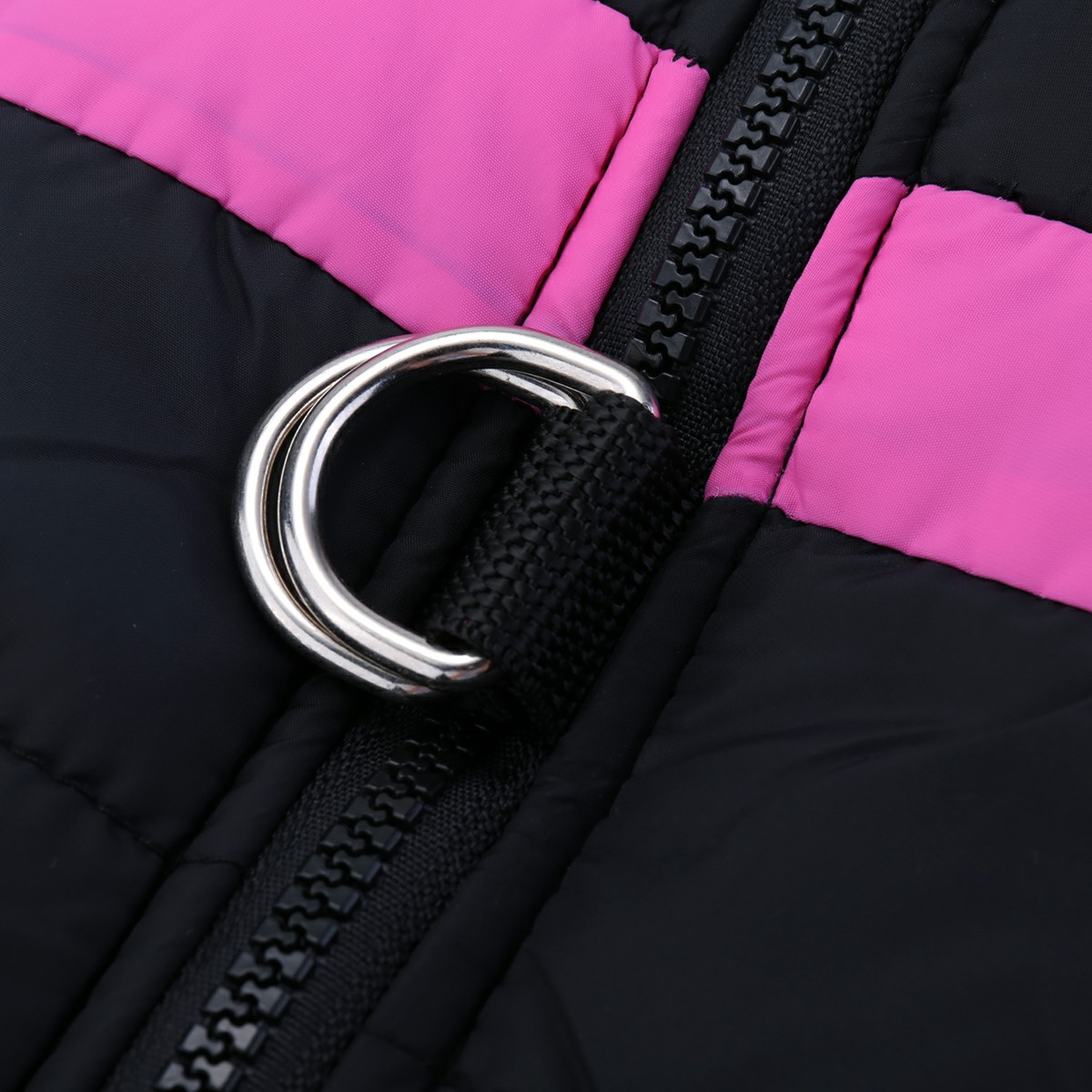 Pet Puppy Dog Warm Insulated Padded Coat Thick Winter Puffer Jacket Vest for Pets Size L - Pink