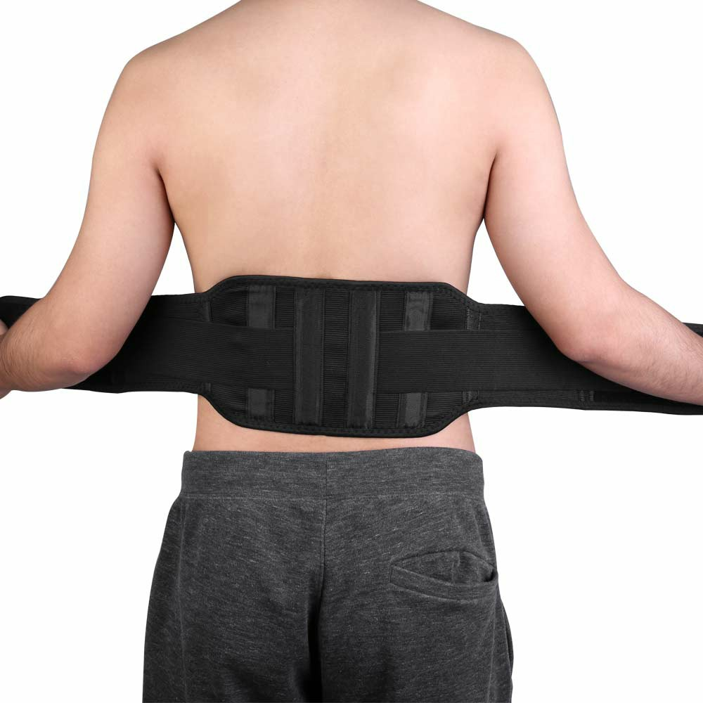 Magnetic Back Support Belt Marlene Self-heating Belt Lower Lumbar Brace Strap Fitness Bodybuilding Training Belt - L