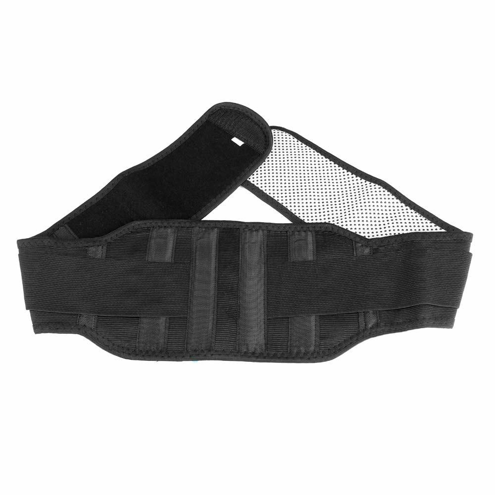Magnetic Back Support Belt Marlene Self-heating Belt Lower Lumbar Brace Strap Fitness Bodybuilding Training Belt - XL