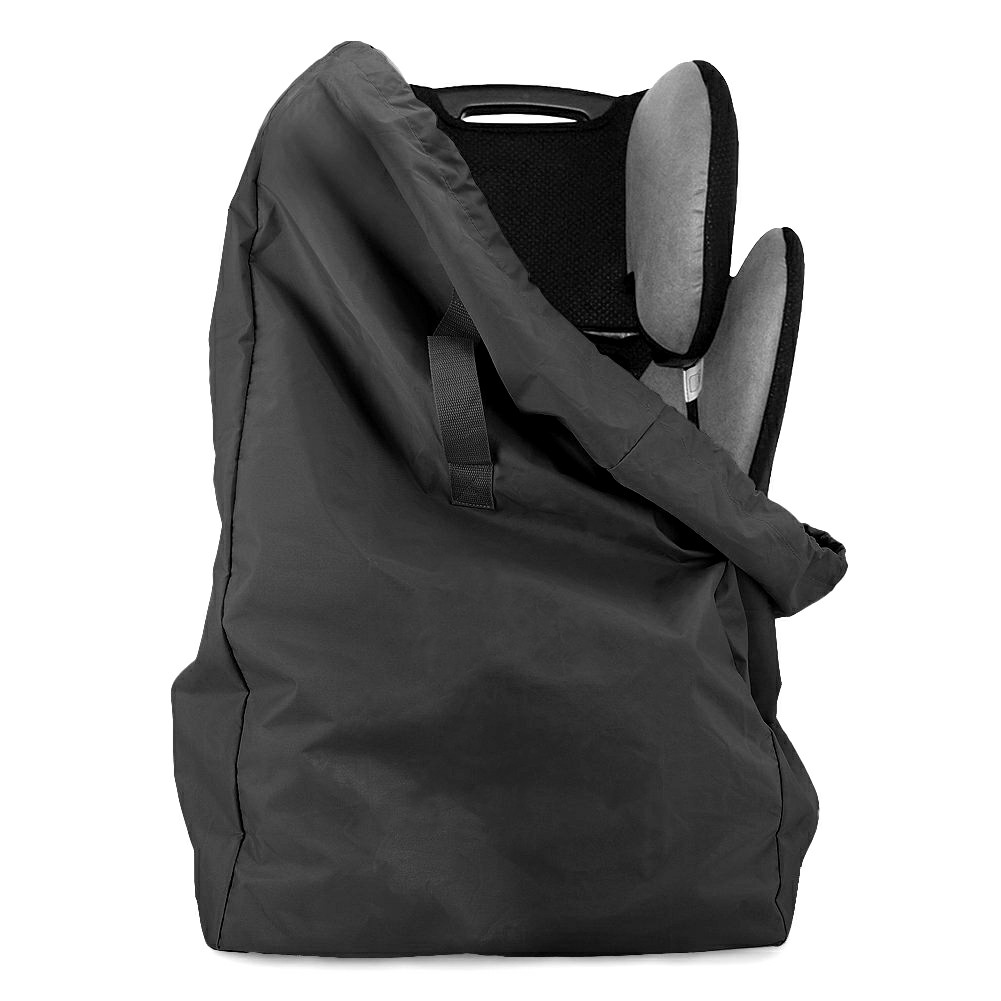86x43x43cm Car Safety Seat Travel Bag Dust Cover Stroller Bag Portable - Black