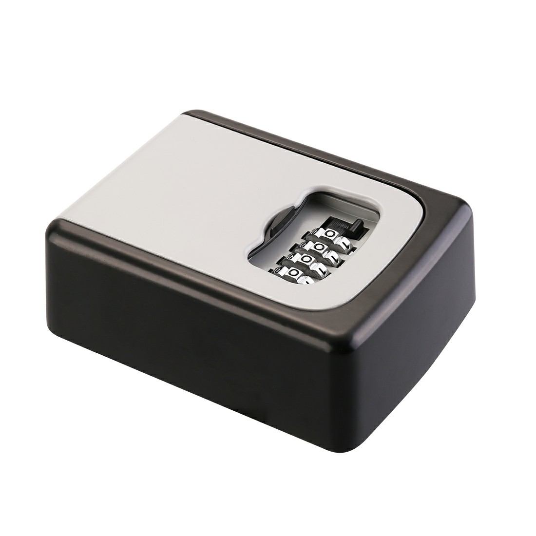 4 Digit Outdoor Security Wall Mounted Key Safe Box Code Safer Lock
