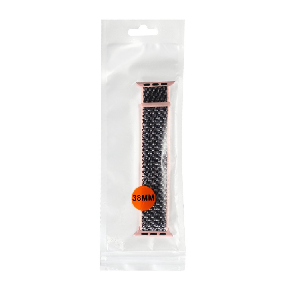 38mm Apple Watch Band Sports Loop Woven Nylon Watchband Strap for iWatch Series 3/2/1