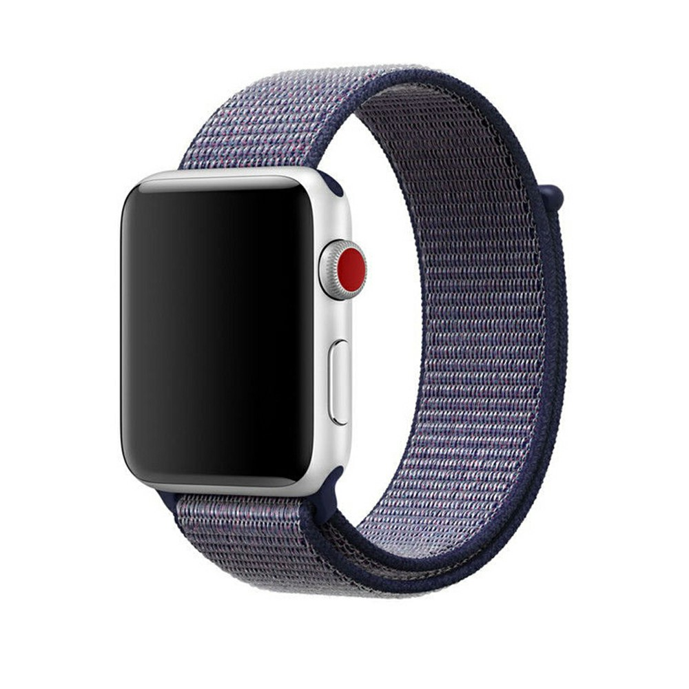 42mm Sports Nylon Wrist Band Watchband Strap Bracelet for Apple Watch - Blue