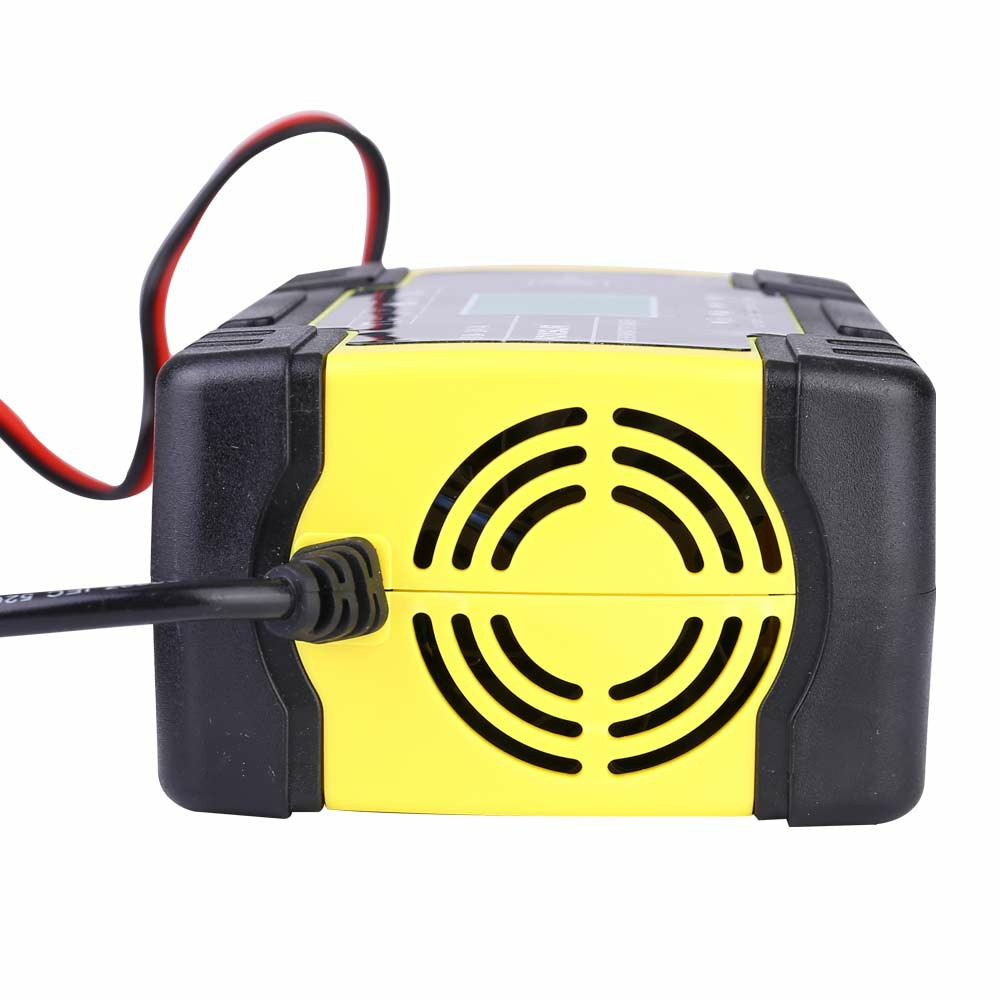 12 24v Automatic Electronic Intelligent Smart Fast Battery Charger Car Motorbike Repair Charger AGM UK