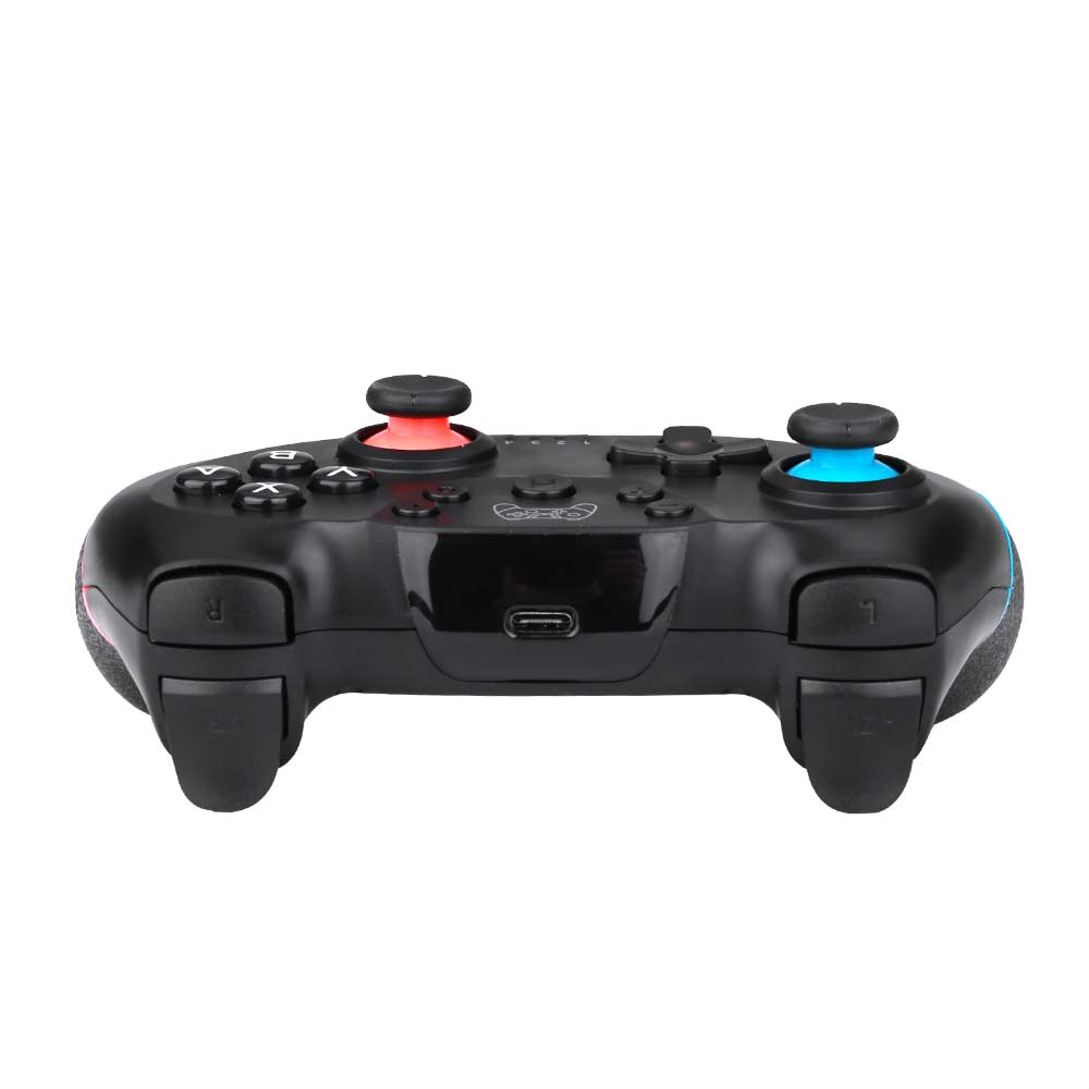 NSP Bluetooth Wireless Gamepad Joystick Pro Controller for Nintendo Switch - Blue + Red