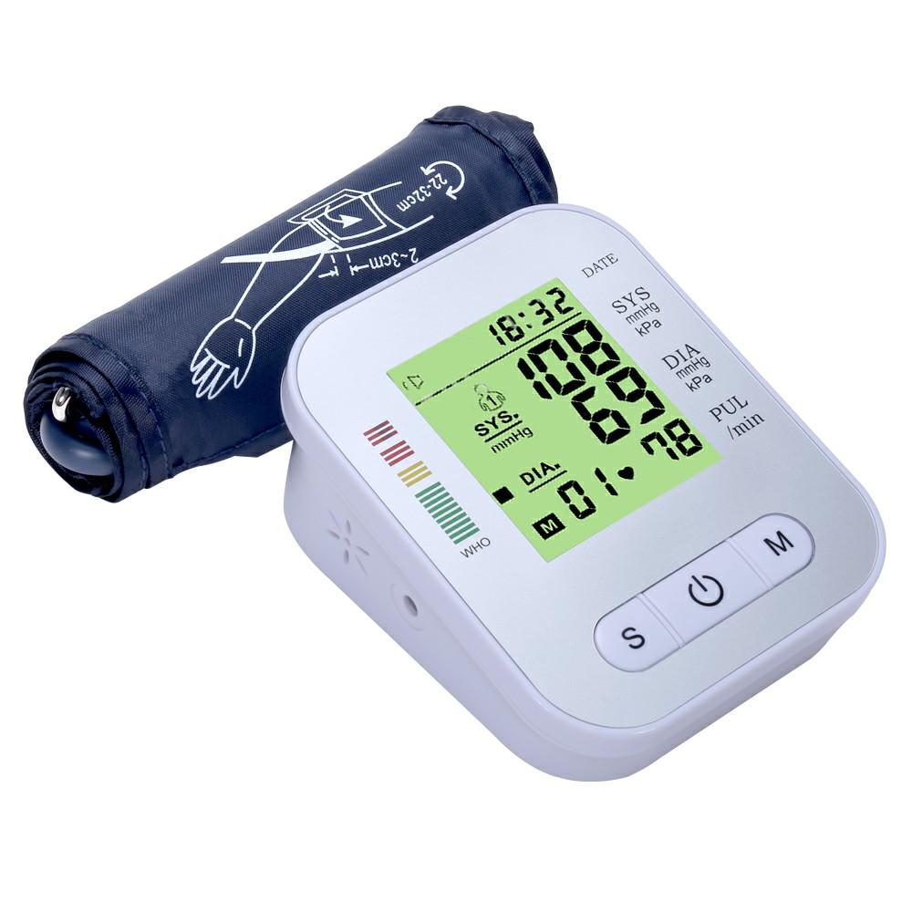 LCD Automatic Digital Blood Pressure Monitor Blood Pressure Machine Eletronic Blood Pressure Meter