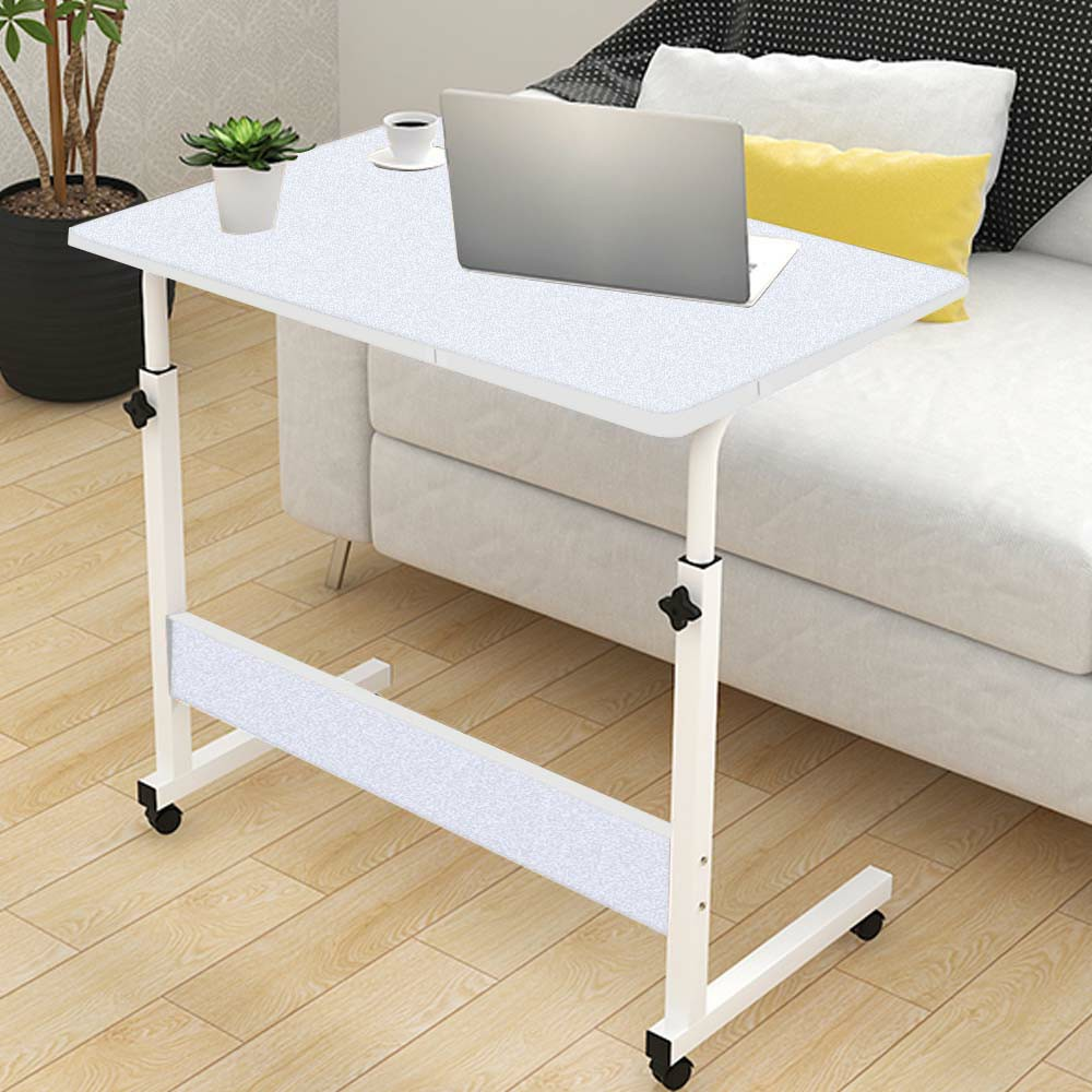 Movable Lifting Adjustable Bedside Computer Table Portable Laptop Synthetic Wood Table