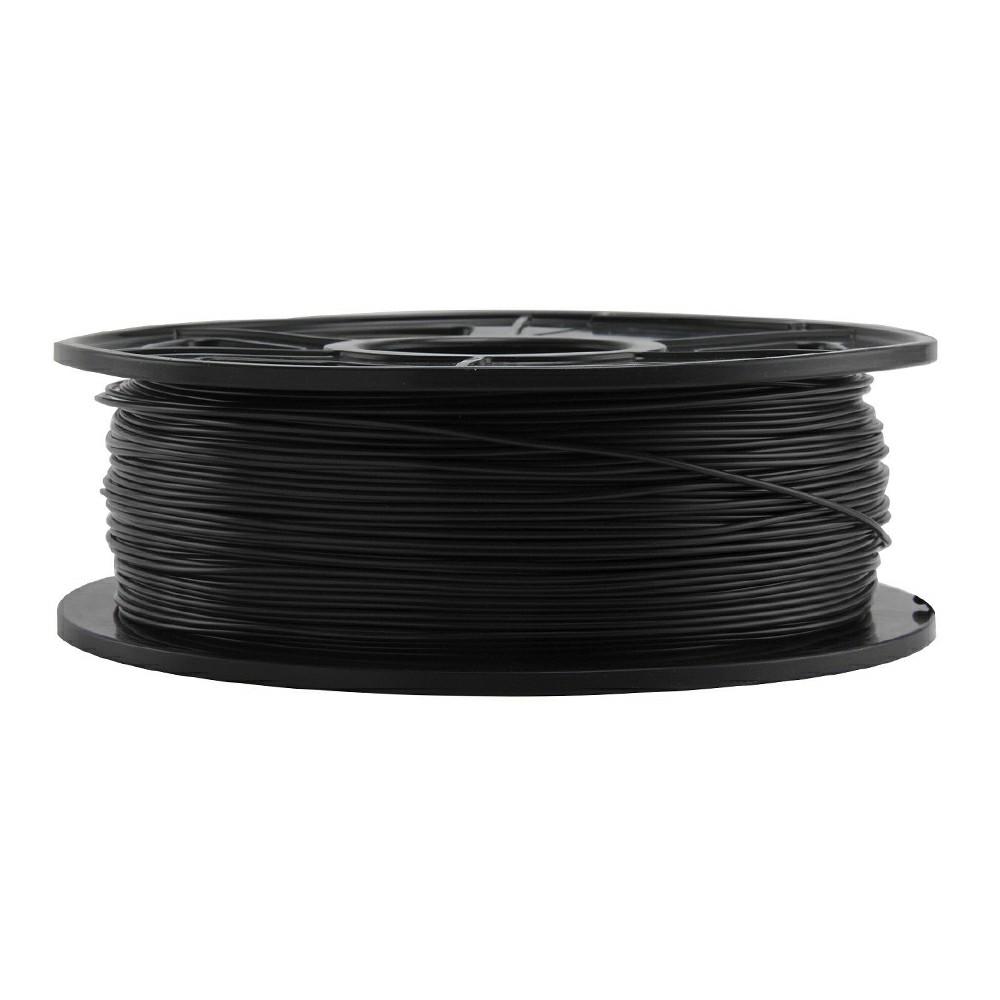 Smooth Surface 3D Printer Filament PLA 1.75mm 1KG - Black