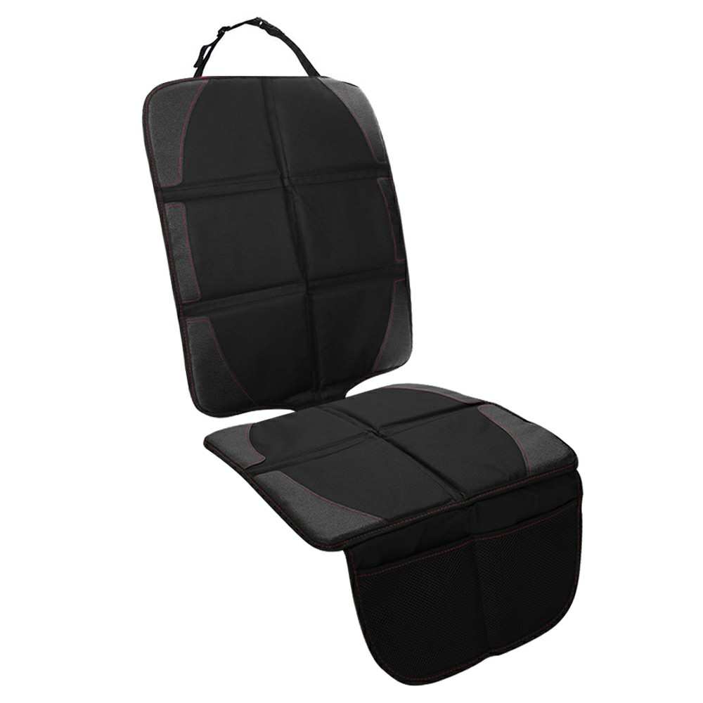 Black Safety Mat Cushion Cover Waterproof Car Seat Protector Non-Slip UK