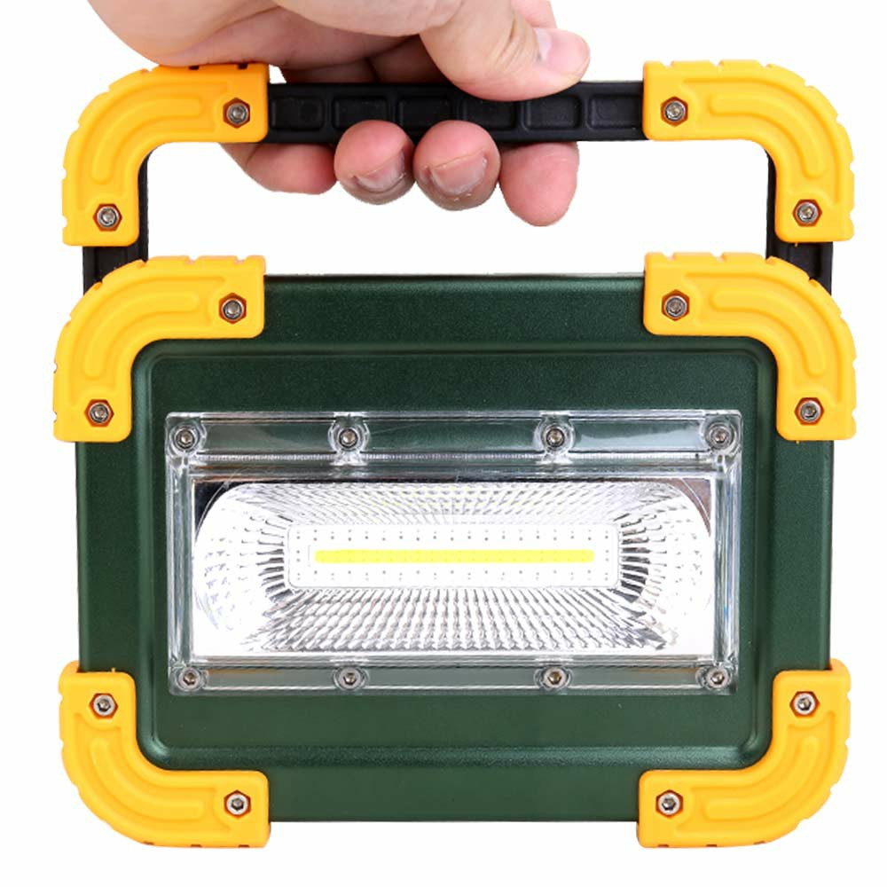 30W COB LED Work Light Rechargeable Camping Security Lamp Emergency Floodlight
