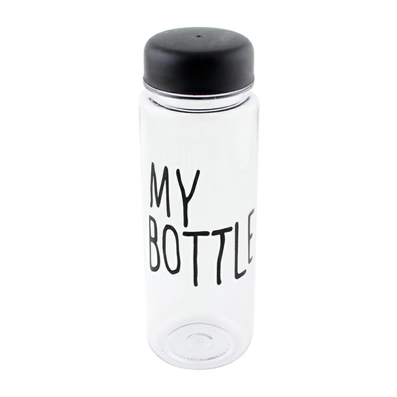 500ML Travel Water Flask Bottle My Bottle Safe Plastic Creative Bottle Lemon Milk Juice Bottle