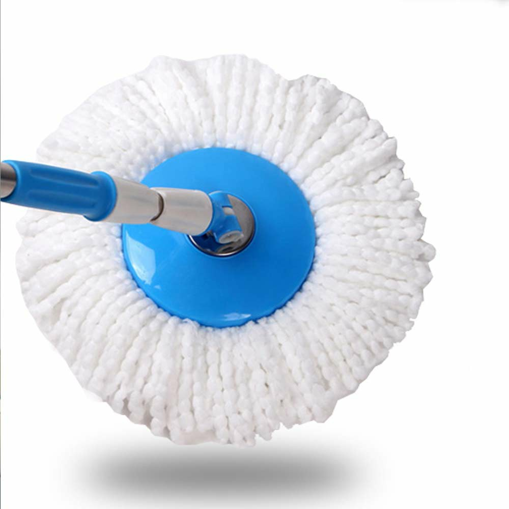 2pcs Replacement Mop Micro Fiber Head Refill for 360 Degree Rotating Spin Magic Mop Home Cleaning