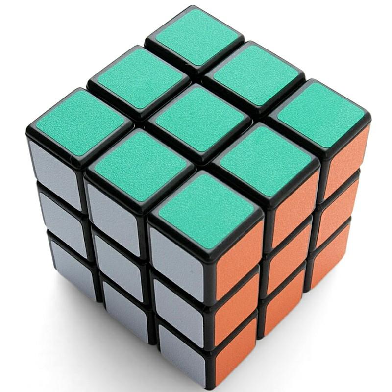 Rubix Cube Puzzle Mind Game Toy Classic Cube - Black Ground