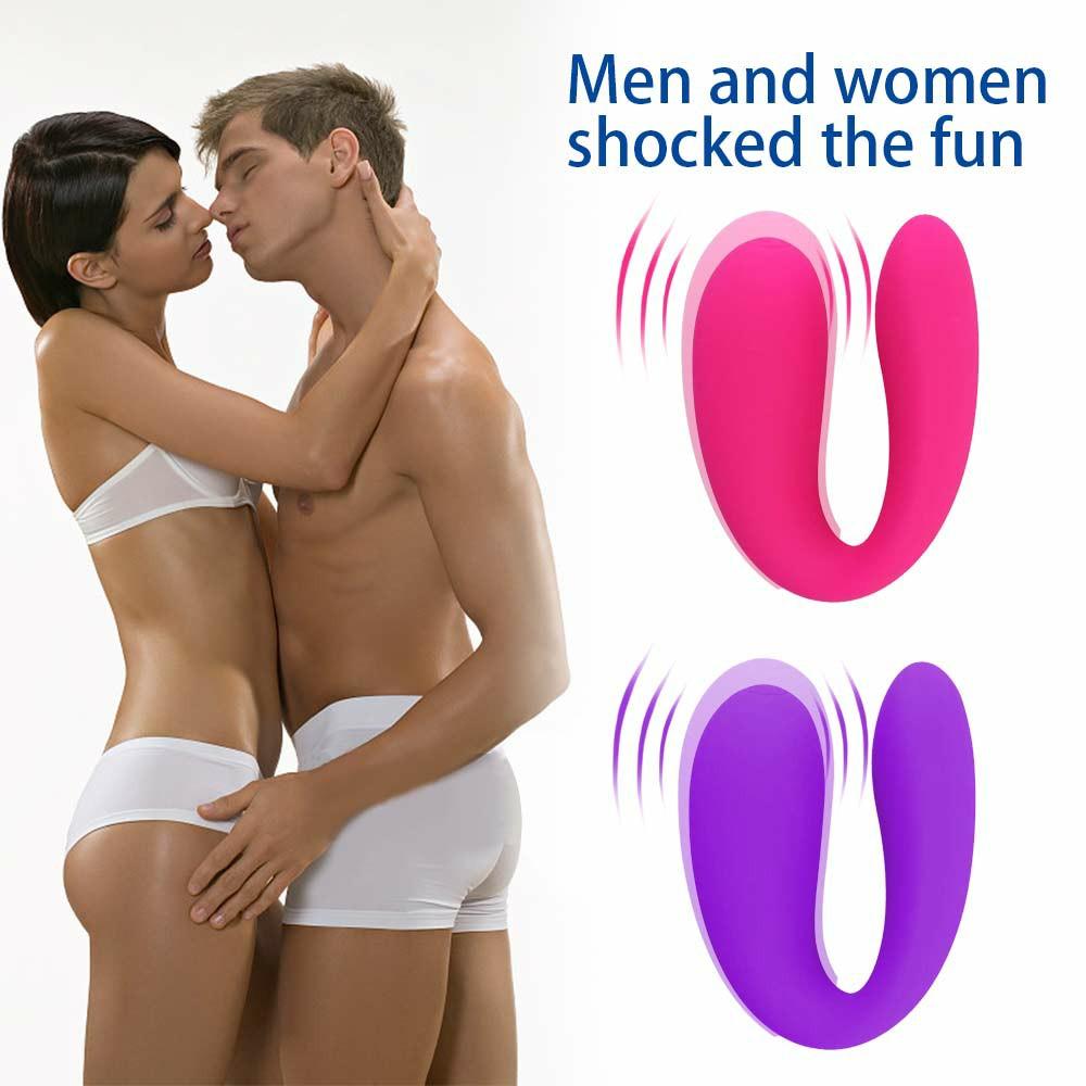 Vibrator Love Egg Vibrating Dildo G-Spot Massager for Men and Women - Purple