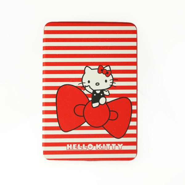 Kitty Cat Back Cover TPU Soft Case Cute Cover with Stand for iPad Mini 1/2/3 - Bowknot