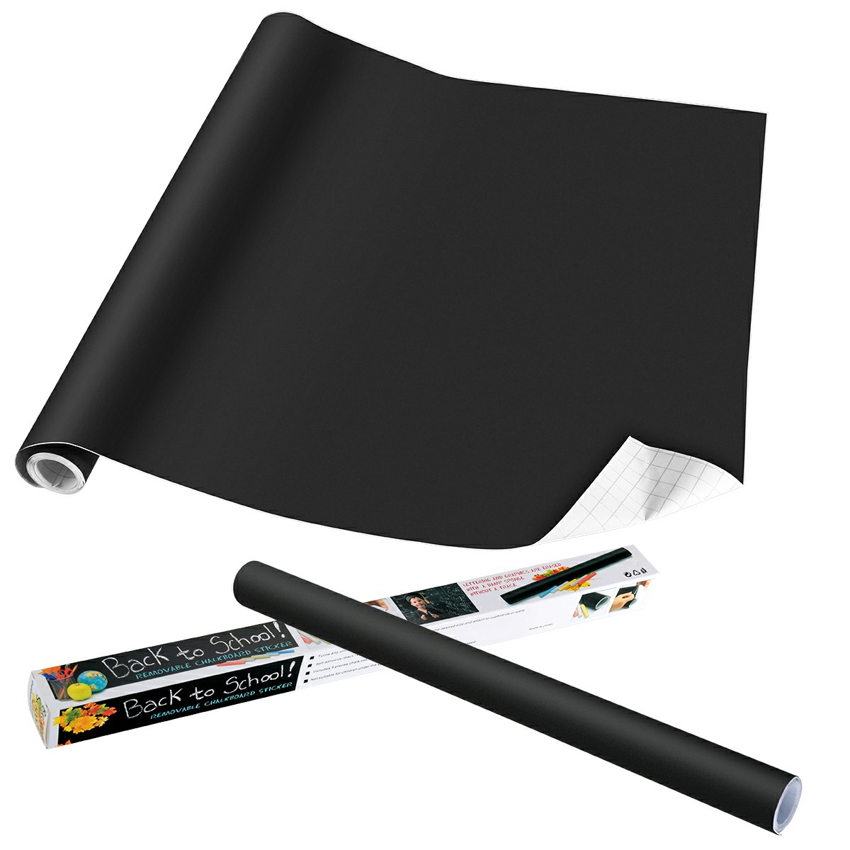 45x200cm Dry Wipe Blackboard Removable Vinyl Wall Sticker Decal for Office Home School