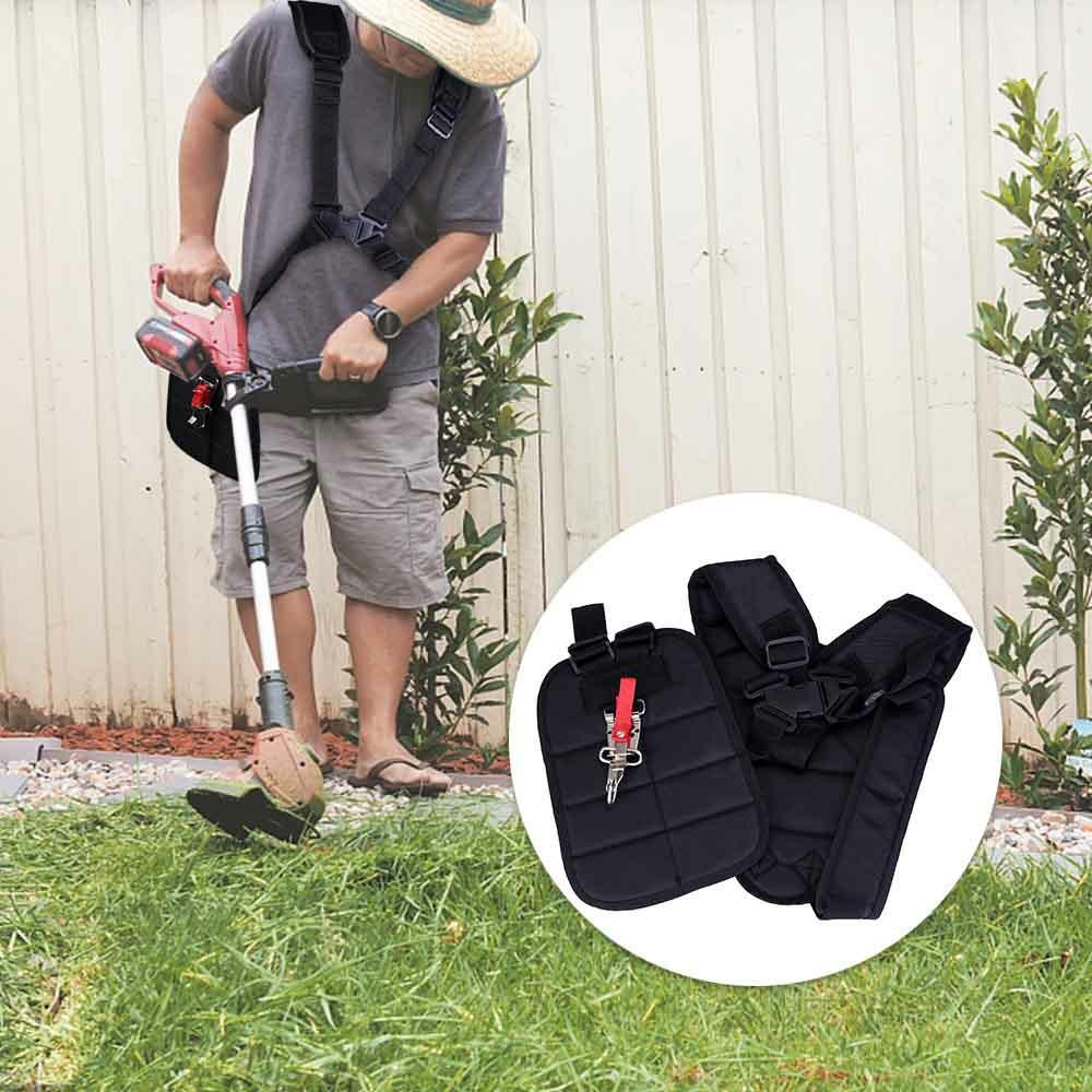 Adjustable Padded Shoulder Harness Strap Garden Cropper Grass Cutter Trimmer Strimmer Strap