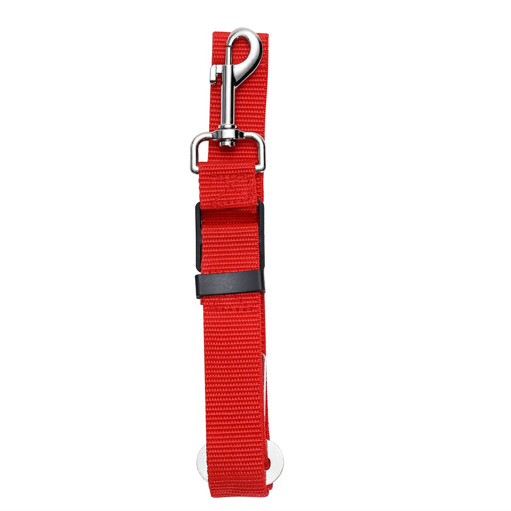 Pet Dog Car Sear Belt Lead Strap Safety Harness Leash Restraint Car Van Travel - Red