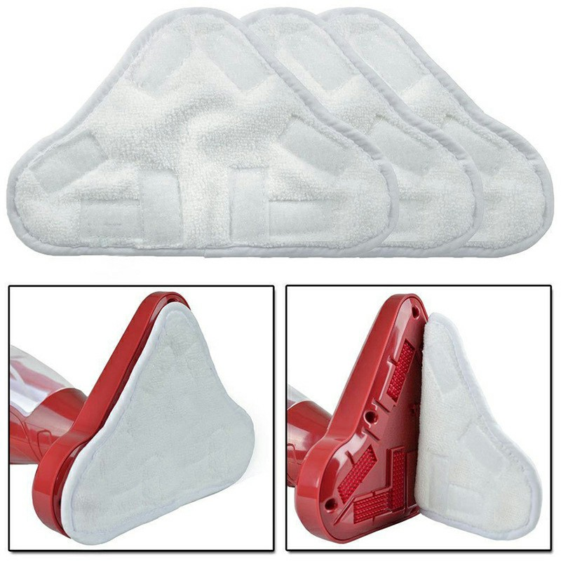 2 pcs Pads fit Thane H20 H2O H2OX5 Steam Mop Floor Replacement Microfibre Head
