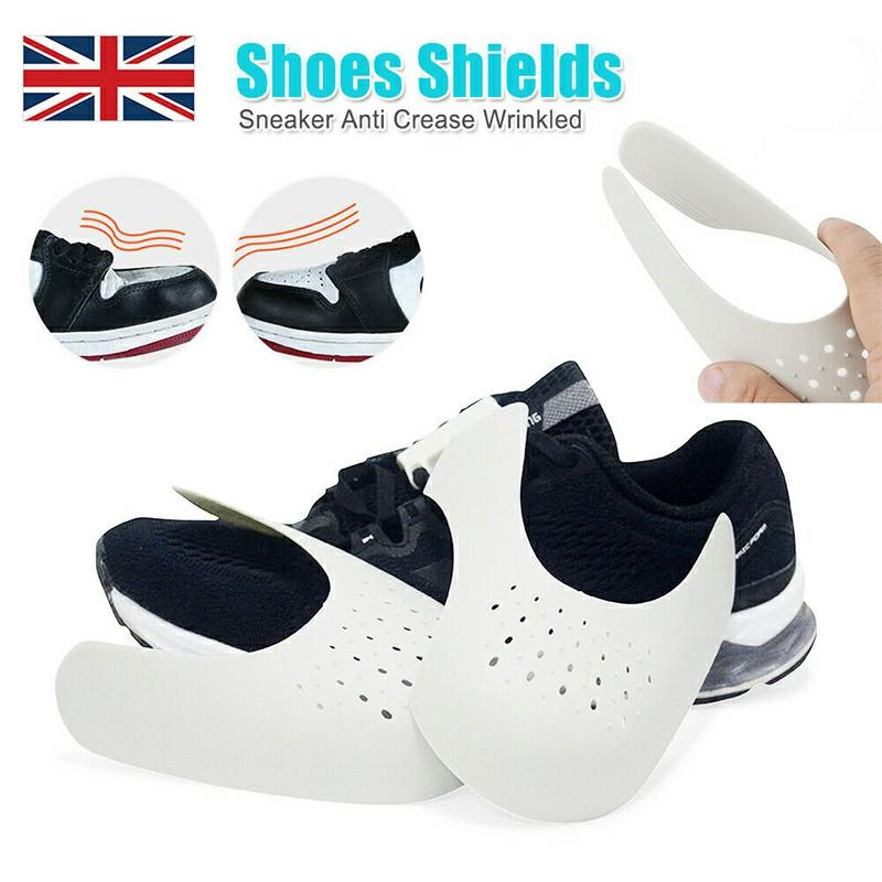 Shoe Trainer Protector Reusable Anti Crease Sneaker Shields Toe Box Decreaser for Men UK