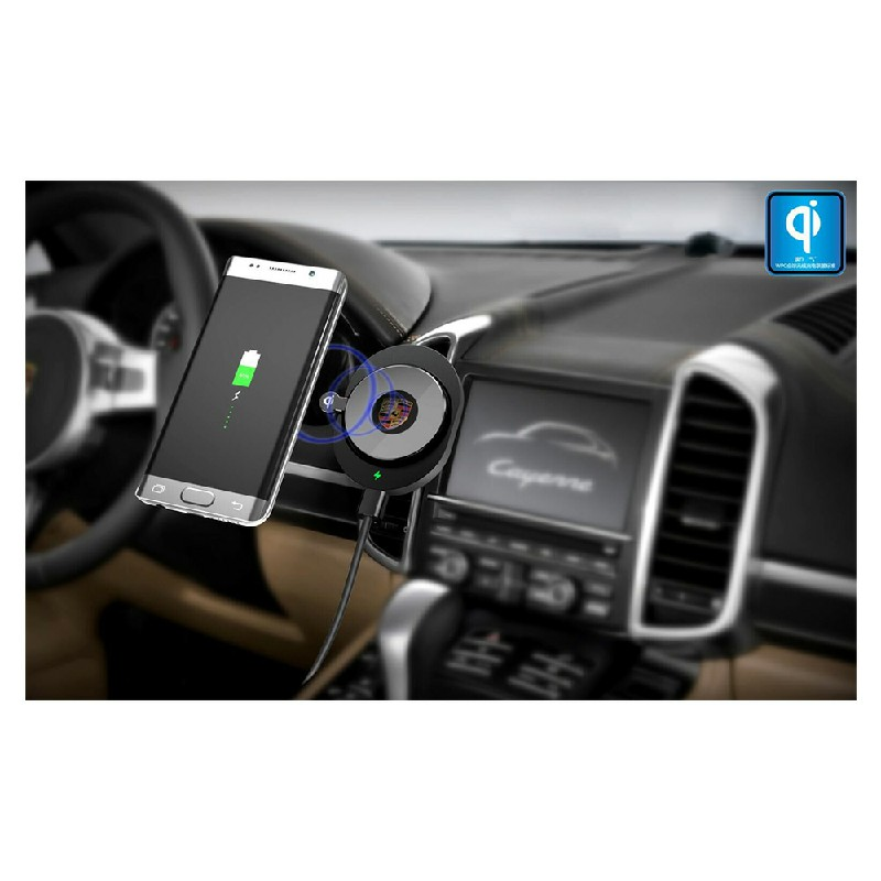 A1 Fast Wireless Car Charger Charging Dock for iPhone X/8
