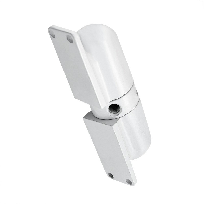 Adjustable Surface Mounted Door Closer Fire Rated Auto Closing Spring Tension - White