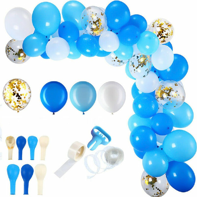 Balloon Arch Kit Set Birthday Wedding Shower Garland Party Decoration - Blue