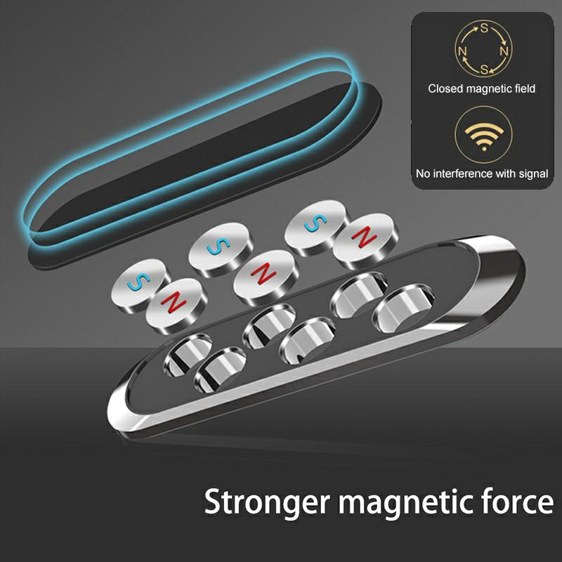 Magnetic Phone Holder Car Dashboard Mount Stand Bracket for Mobile Phone GPS - Black