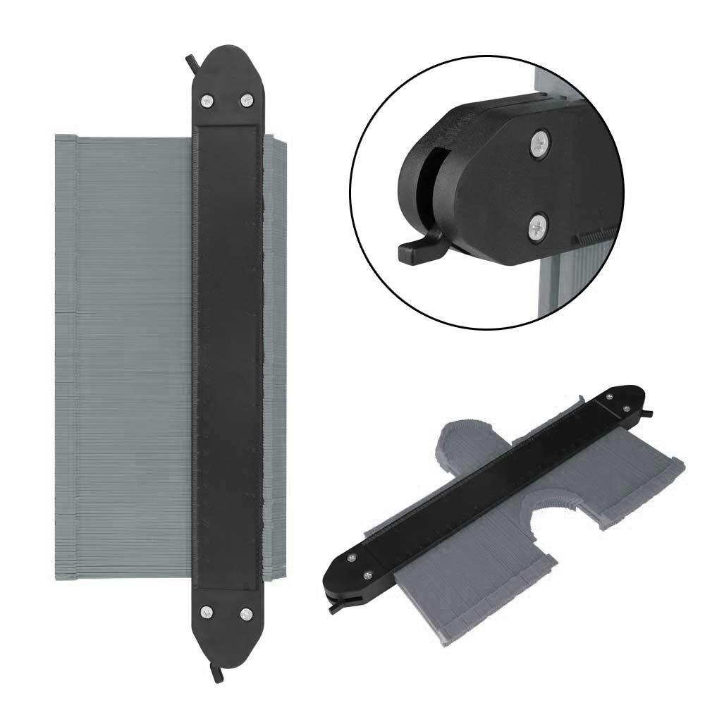 10 Inch Saker Upgrade Contour Gauge Profile Tool Contour Duplicator With 2 Locks