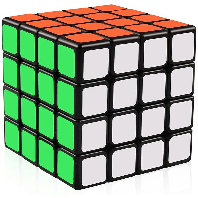 4x4 Speed Cube Magic Cube 4x4x4 Puzzle Toys for - Black