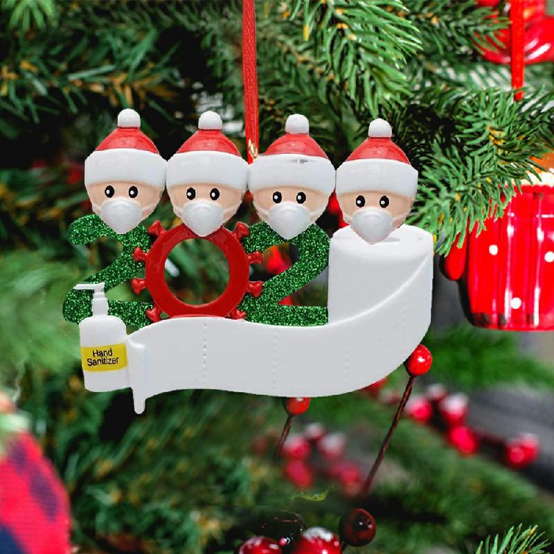2020 NEW Xmas Christmas Tree Hanging Pendant Ornaments Family Ornament Decor