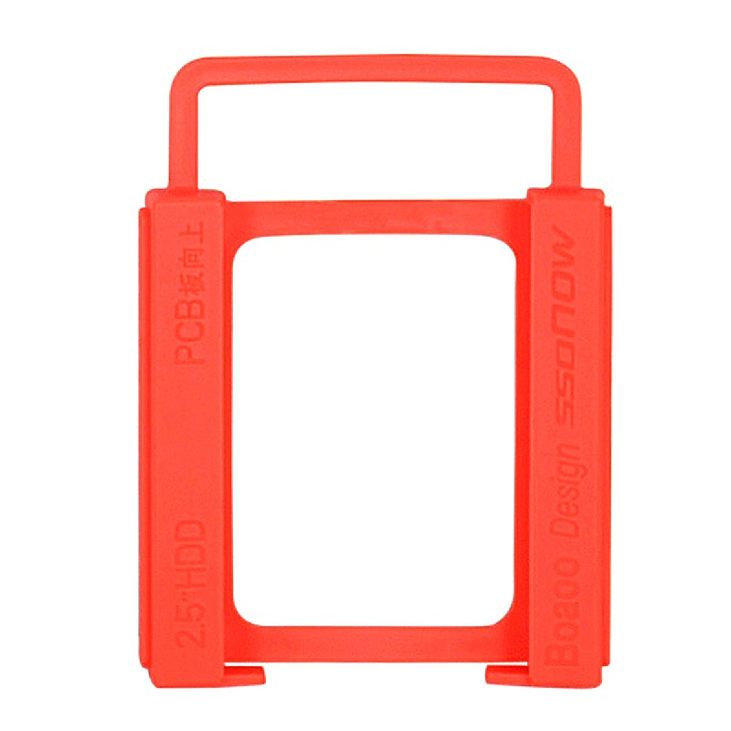 2.5 inch to 3.5 inch SSD Hard Drive Silicone Stand Mounting Bracket Holder