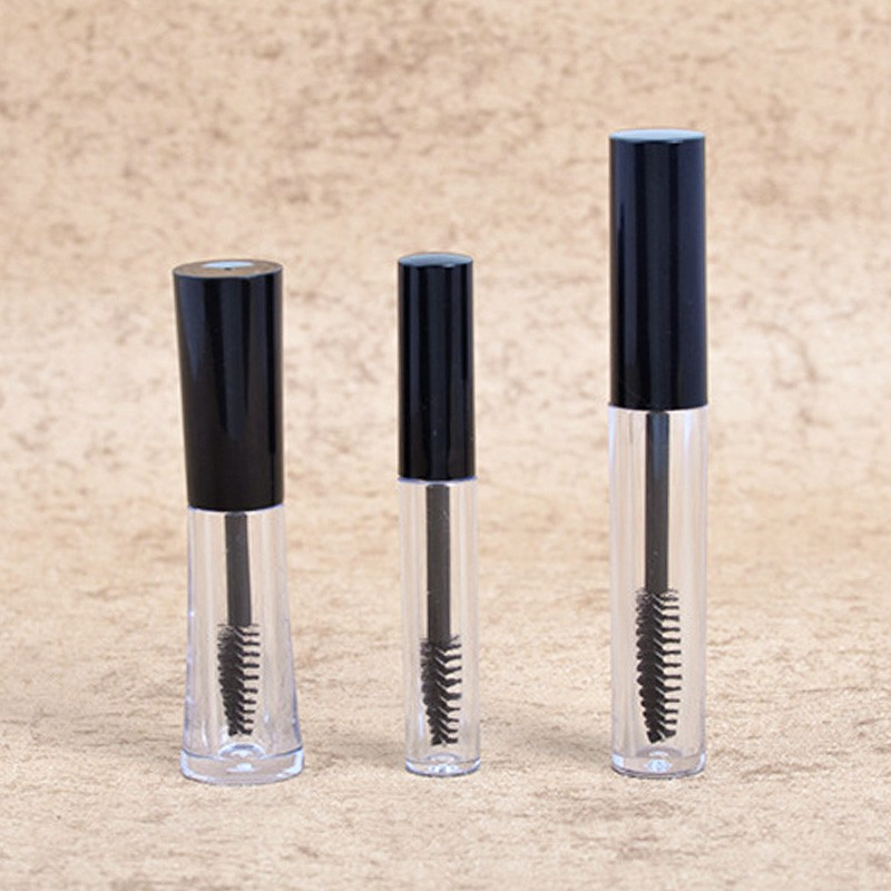 Mini Empty Bottle with Brush for DIY Eyelash Cream Container - 3ml