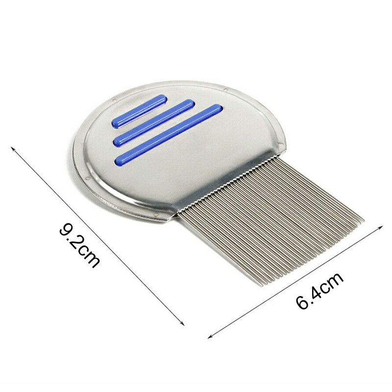 Lice Nit Comb Get Down To Nitty Gritty Metal Head And Teeth Metal Pins Nit Free Comb
