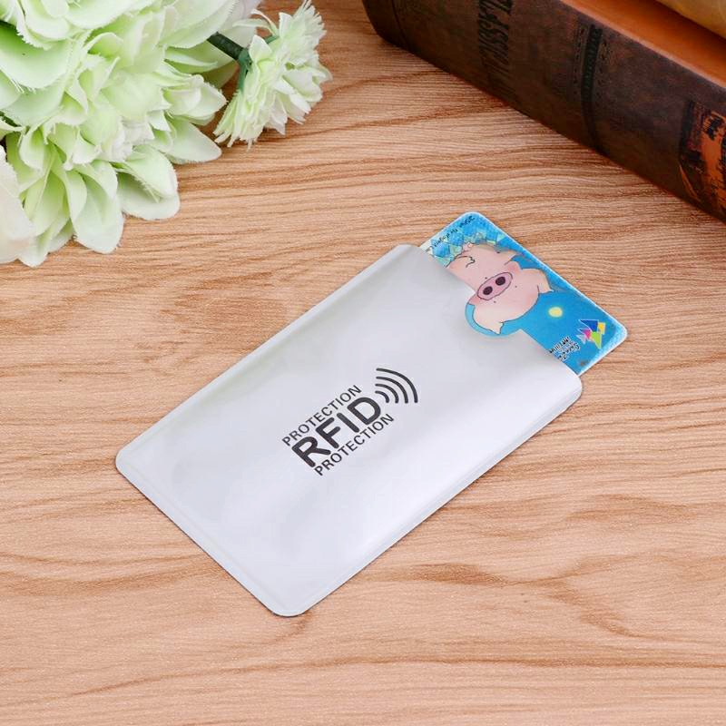 Bank Card Blocking Contactless Debit Credit Protector Sleeve Rfid Wallet Case Holder