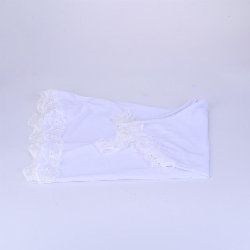 Women Boho Vest Top Cami Shirt Ladies Plus Size Loose Fit White Lace Blouse - 3XL