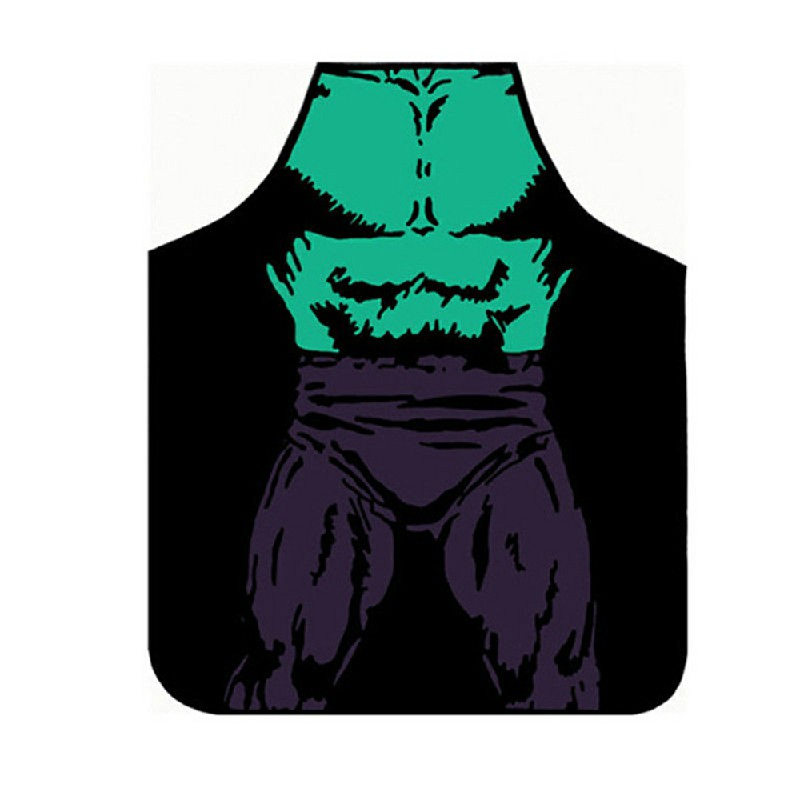 Funny Cooking Kitchen Apron Novelty Sexy Dinner Party Aprons - The Hulk