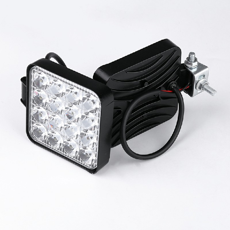 2pcs 48W LED Work Light Bar Flood Spot Lights Driving Lamp Offroad Car Truck SUV